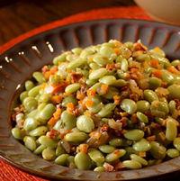 Lima beans with Chorizo