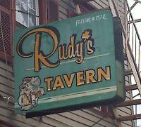 Rudys Bar Sign