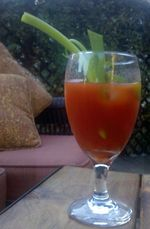 Asian Bloody Mary side view