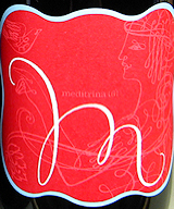 Meditrina wine label