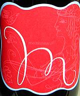 Meditrina wine label