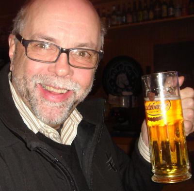 Beer Drinker Smile