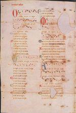 Martin Codax Parchment