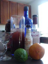 Pom Org Cocktail