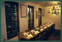 Pepolina Italian NYC Dining Room