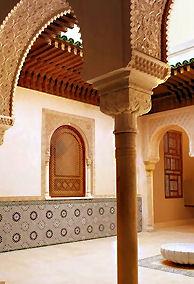 Moraccan Courtyard smaller