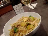 Italian Wine and Pasta