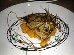Seared Foie Gras Sautéed butternut squash, fried leeks, sauterne sauce