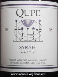 Qupe Syrah