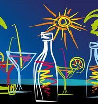 Summer Wine Drawing Cropped