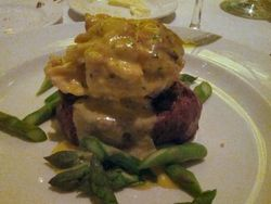 Capital Grille Filet Oscar