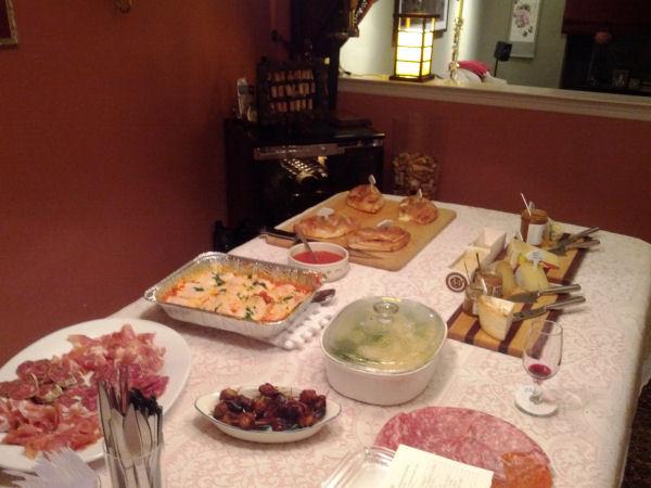The Food Was Abundant