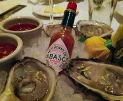 Capital Grille Oysters