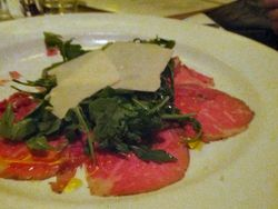 Capital Grille Kobe Beef Carpaccio