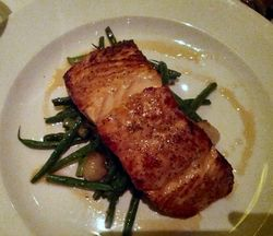 Capital Grille Cirtus Glazed Salmon