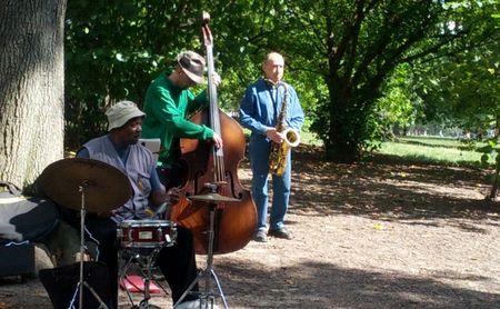 Jazz Musicians in CentralPark