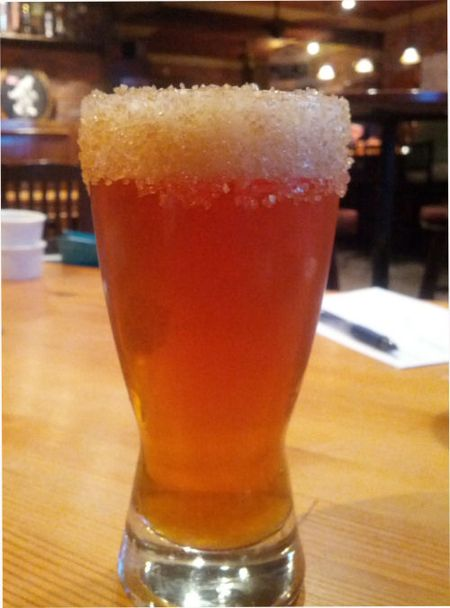 Southern Tier Pumking with a Sugar Rim