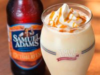 Sam Adams Beer milkshake