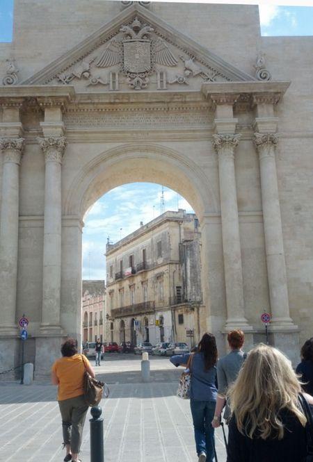 Lecce Entrance