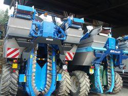 Castello D'Albola Grape Harvesting Machines