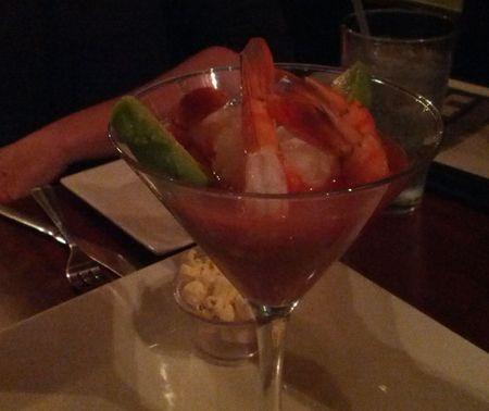 Ecuadorian Shrimp Cocktail 'Martini' 3