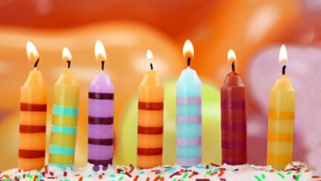 7 Birthday Candles