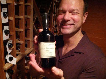 With Conrad in the Cellar