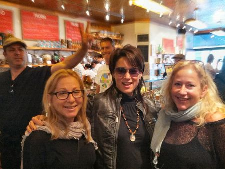 Il Buco Alimentari & Vineria New York City with the girls