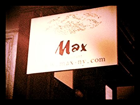 Max Sign