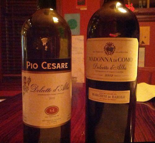 Wine Dolcetto D' Alba