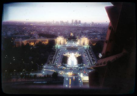 From the Eiffel Tower enhanced