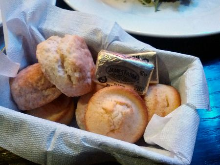 Mini Biscuits and Corn Muffins