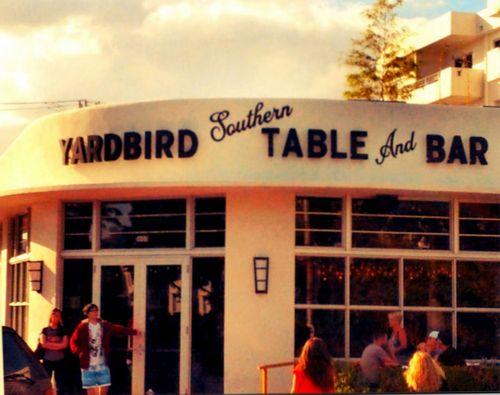 Yardbird Southern Table and Bar Entrance Framed 2