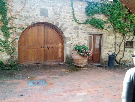Castello D'Alba doors
