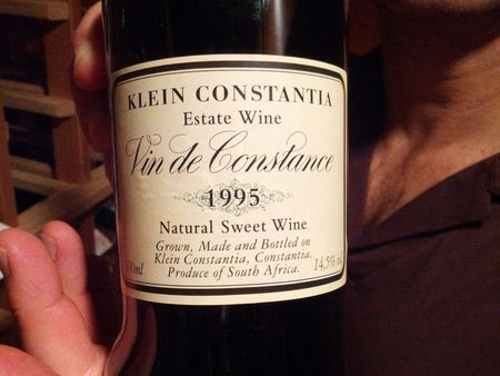 Klein Constantia Natural Sweet Wine