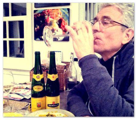 Alsatian Pinot Blanc Greg Sips the Wine
