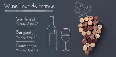Wine Tour De France Spring