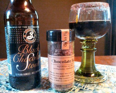 Chocolate Stout and Choclate Salt 2