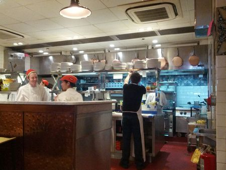 Il Buco Alimentari & Vineria  Busy Kitchen