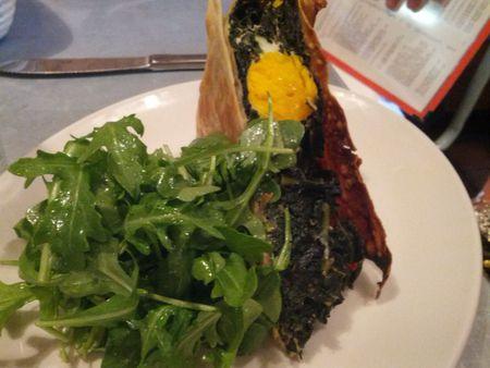 Il Buco Alimentari & Vineria  Egg in Kale