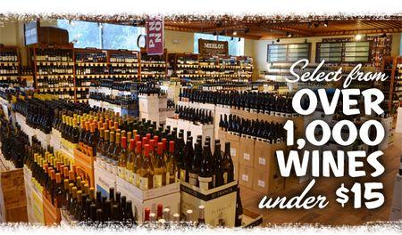 1000 Wines under 15