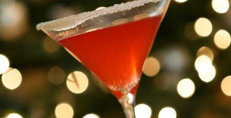 Rimmed martini wide