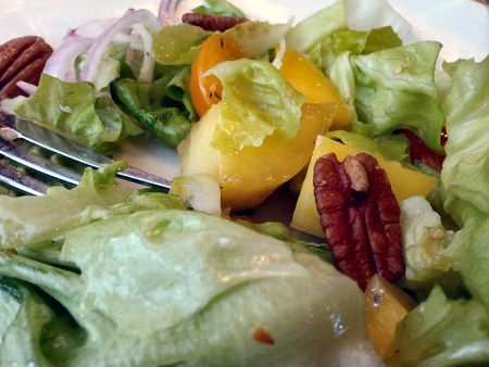 Yardbirds Southern Table Butter Lettuce & Grilled Mango smoked pecans, benne seed vinaigrette Salad