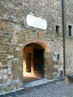 Castello D'albola Entrance