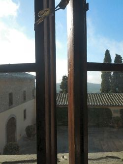 Castello D'albola morning