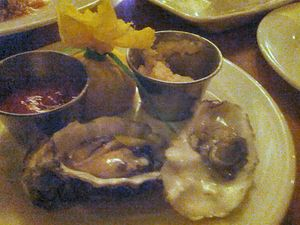Delicious West Coast Oysters