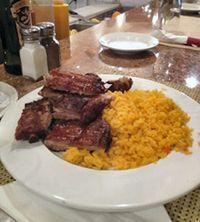 Ribs and Rice
