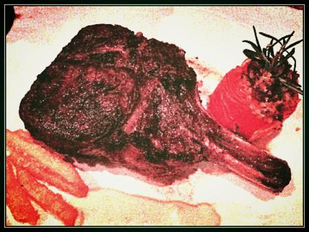 Cut Tomahawk Steak