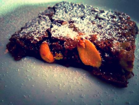 Mixed Nut Fudge Brownie