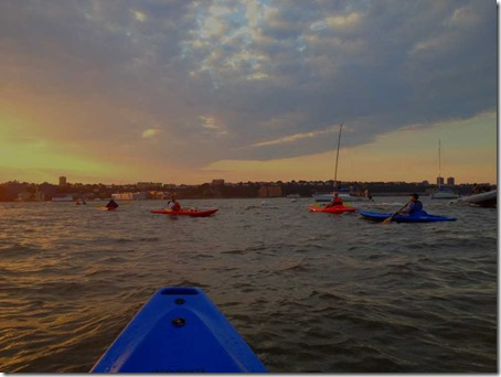 Kayaking on the Hudson